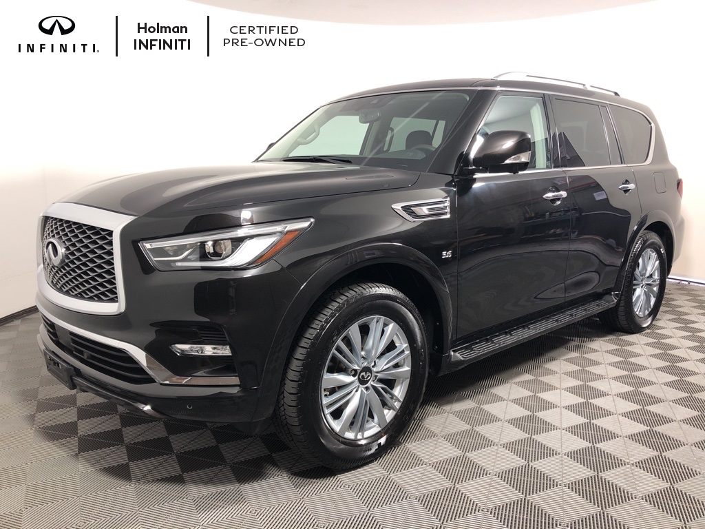 Certified Pre Owned 2019 Infiniti Qx80 Luxe 4d Sport Utility In